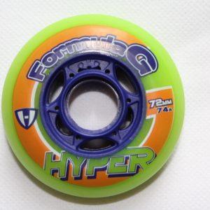 Hyper Formula G Rollen 4er Set