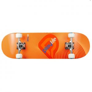 Playlife Skateboard Illusion Orange